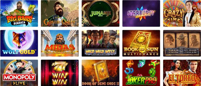 SuperCat Casino: 60 Free Spins No Deposit