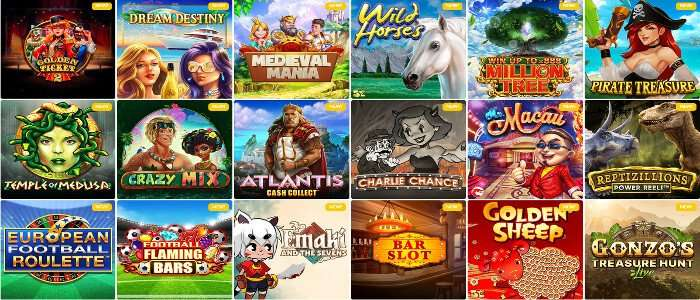 Slot Wolf Casino: 20 Free Spins no deposit